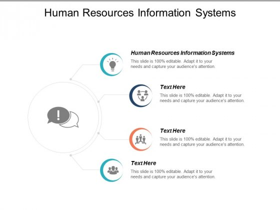 Human Resources Information Systems Ppt PowerPoint Presentation Professional Graphics Cpb