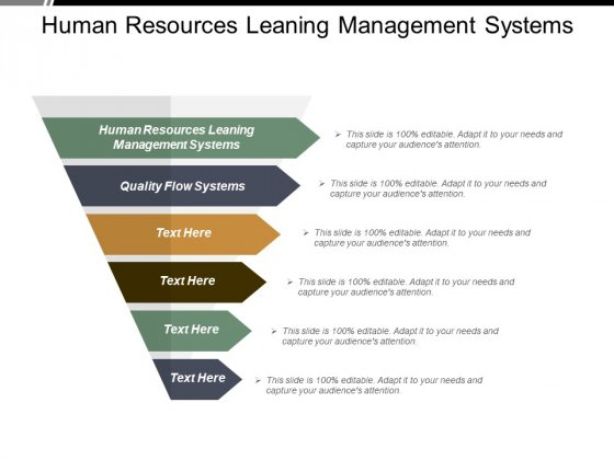 Human Resources Leaning Management Systems Quality Flow Systems Ppt PowerPoint Presentation Slides Portrait