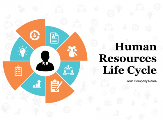 Human Resources Life Cycle Ppt PowerPoint Presentation Complete Deck With Slides