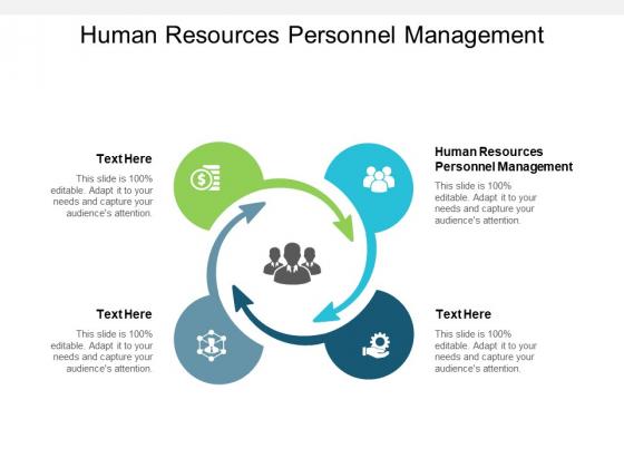 Human Resources Personnel Management Ppt PowerPoint Presentation Inspiration Portfolio