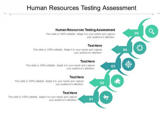 Human Resources Testing Assessment Ppt PowerPoint Presentation Gallery Pictures Cpb Pdf
