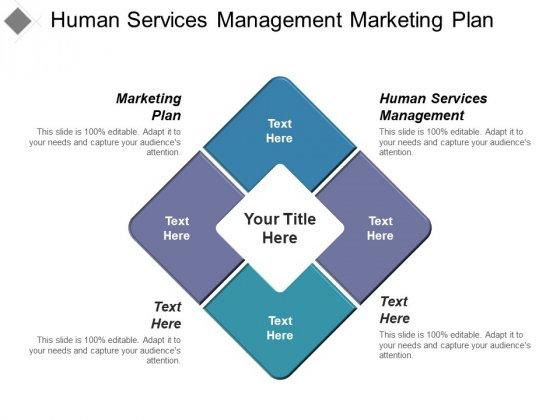 Human Services Management Marketing Plan Ppt PowerPoint Presentation Inspiration Graphics Pictures