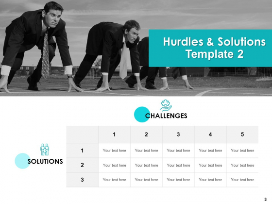 Hurdles_And_Solutions_Ppt_PowerPoint_Presentation_Complete_Deck_With_Slides_Slide_3