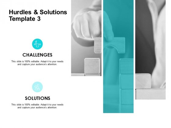 Hurdles And Solutions Template 3 Ppt PowerPoint Presentation Gallery Layouts