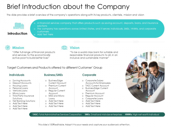 Hybrid Investment Pitch Deck Brief Introduction About The Company Demonstration PDF
