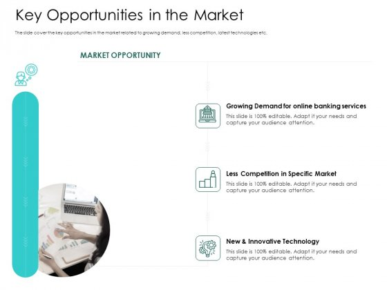 Hybrid Investment Pitch Deck Key Opportunities In The Market Diagrams PDF