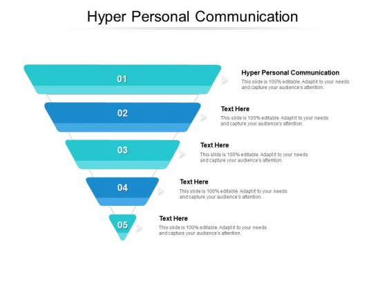Hyper Personal Communication Ppt PowerPoint Presentation Styles Designs Cpb