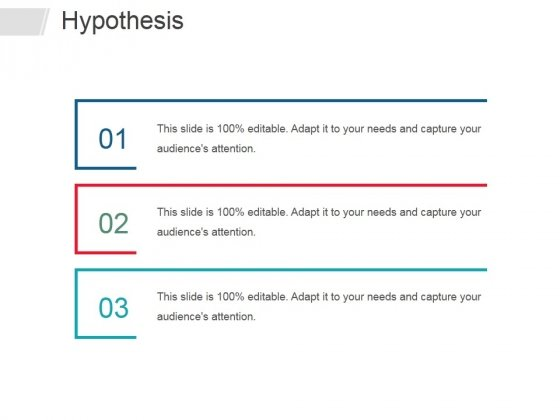 Hypothesis Ppt PowerPoint Presentation Ideas Smartart