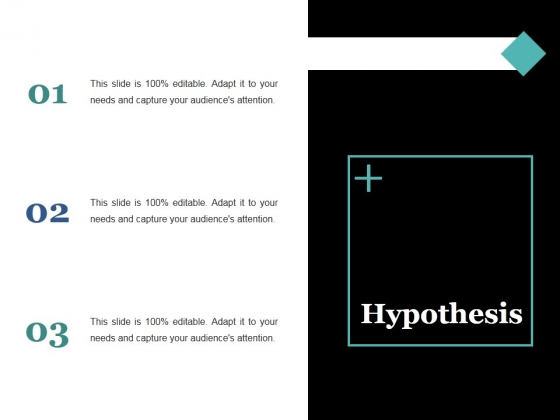 Hypothesis Ppt PowerPoint Presentation Styles Graphics Example
