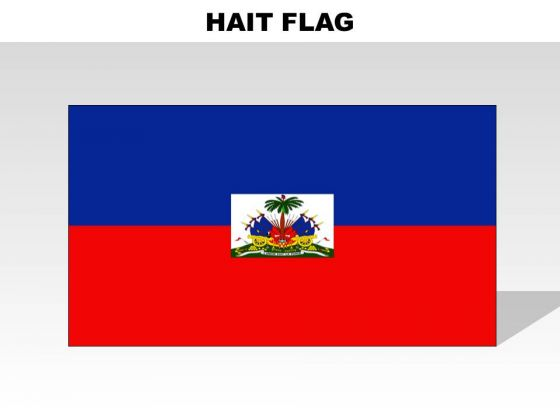 Hait Country PowerPoint Flags