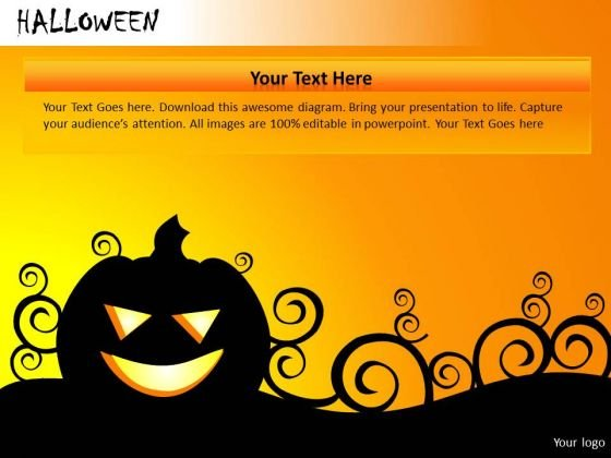Halloween PowerPoint templates, backgrounds Presentation slides ...