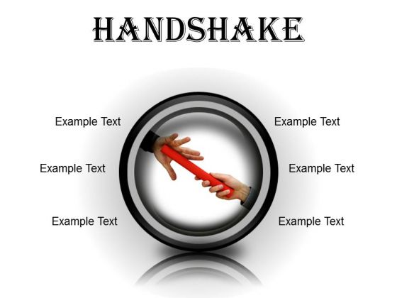 Handshake Business PowerPoint Presentation Slides Cc