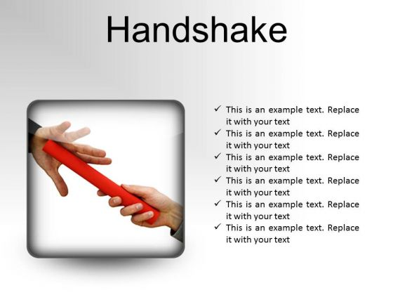 Handshake Business PowerPoint Presentation Slides S
