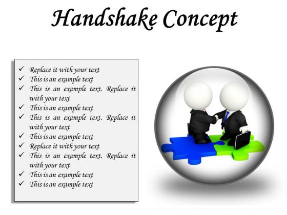 Handshake Concept Business PowerPoint Presentation Slides C