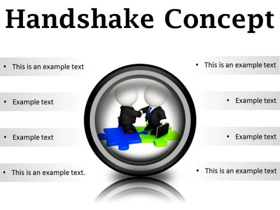 Handshake Concept Business PowerPoint Presentation Slides Cc