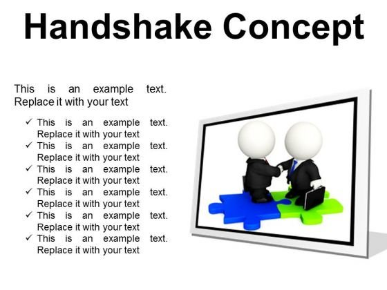 Handshake Concept Business PowerPoint Presentation Slides F