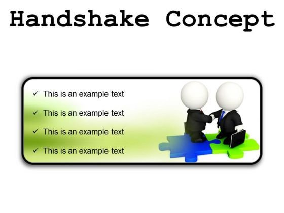Handshake Concept Business PowerPoint Presentation Slides R