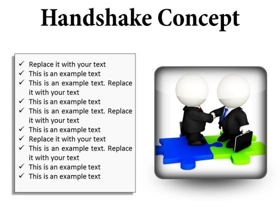 Handshake Concept Business PowerPoint Presentation Slides S