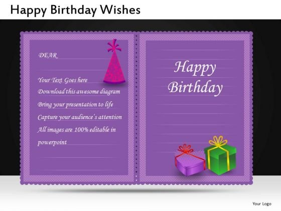 Happy Birthday Invitation PowerPoint Slides And Editable Ppt Templates