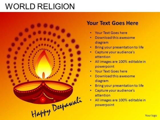 Happy Diwali PowerPoint Slides And Ppt Diagram Templates