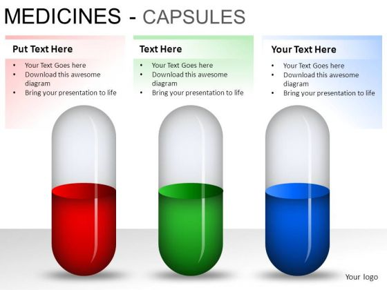 Health Medical Capsules PowerPoint Slides And Ppt Diagram Templates