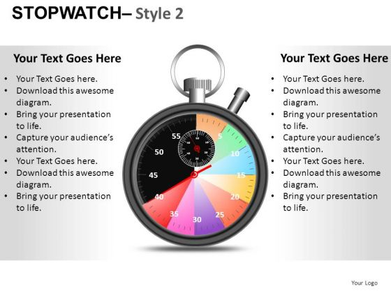 Health Stopwatch 2 PowerPoint Slides And Ppt Diagram Templates