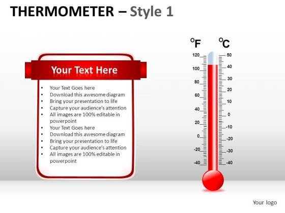 Health Thermometer 1 PowerPoint Slides And Ppt Diagram Templates