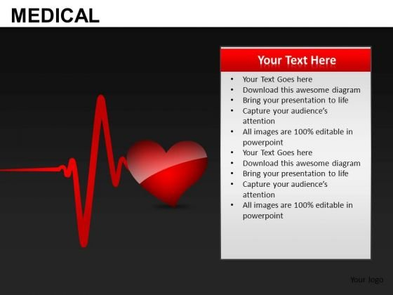 Healthy Heart PowerPoint Templates Editable Ppt Slides