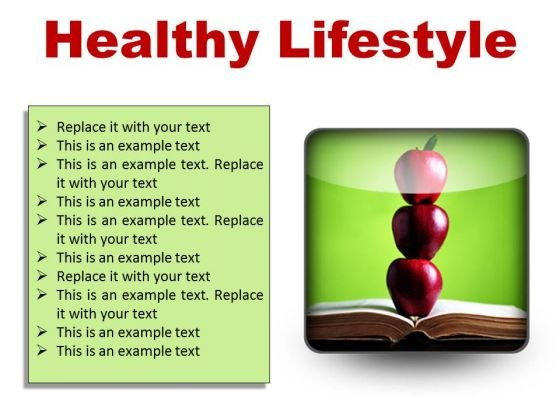 Healthy Lifestyle Food PowerPoint Presentation Slides S