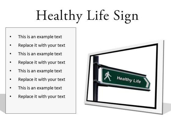 Healthy Lifestyle PowerPoint Presentation Slides F