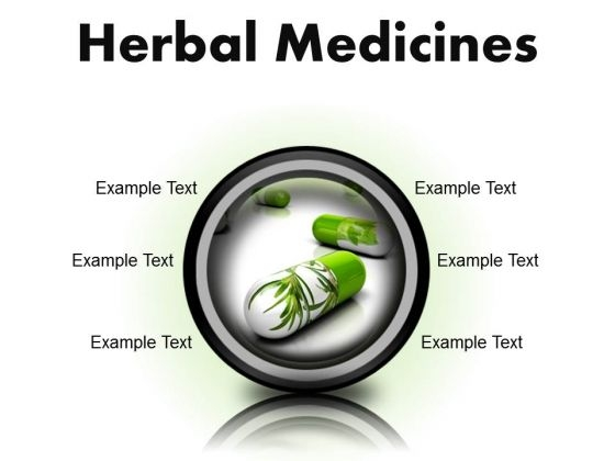 Herbal Medicines Science PowerPoint Presentation Slides Cc