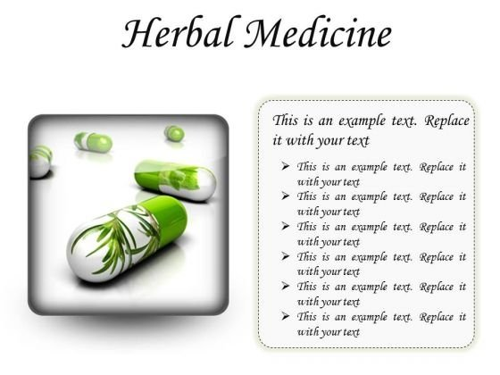 Herbal Medicines Science PowerPoint Presentation Slides S