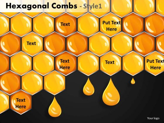 Hexagonal Combs Ppt