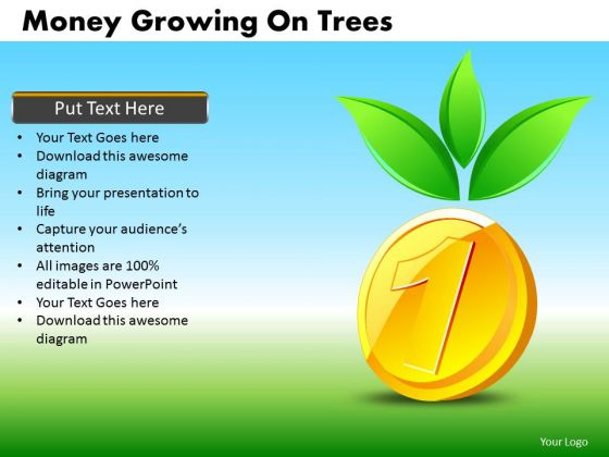 High Returns Financial Growth PowerPoint Templates Editable Ppt Slides