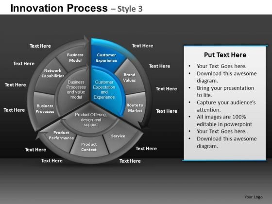 Highlight Cells Editable Process PowerPoint Slides And Ppt Diagram Templates