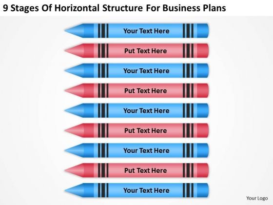 Horizontal Structure For Business Plans Ppt Proposal Examples PowerPoint Slides