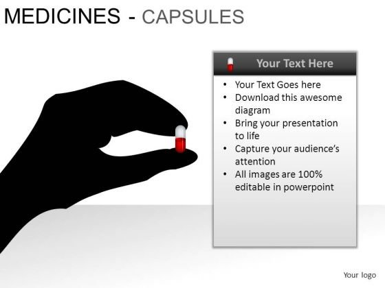 Hospital Medical Capsules PowerPoint Slides And Ppt Diagram Templates