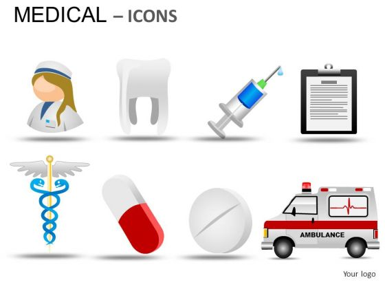 Hospital Medical Icons PowerPoint Slides And Ppt Diagram Templates