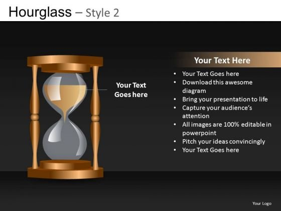 Hourglass PowerPoint Editable Themes