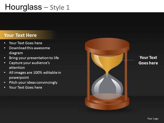 Hourglass PowerPoint Templates And Hourglass Ppt Backgrounds