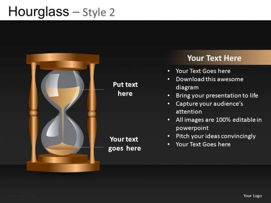 Hourglass Ppt Slide