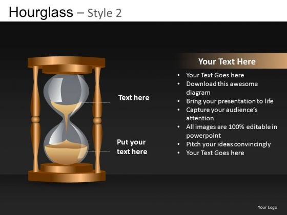 Hourglass Sand PowerPoint Ppt Templates
