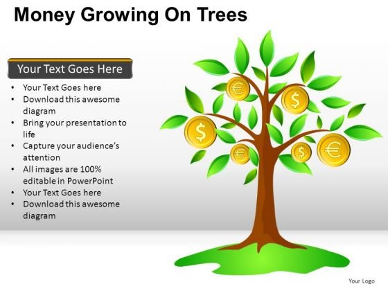 House Money Growing On Trees PowerPoint Slides And Ppt Diagram Templates