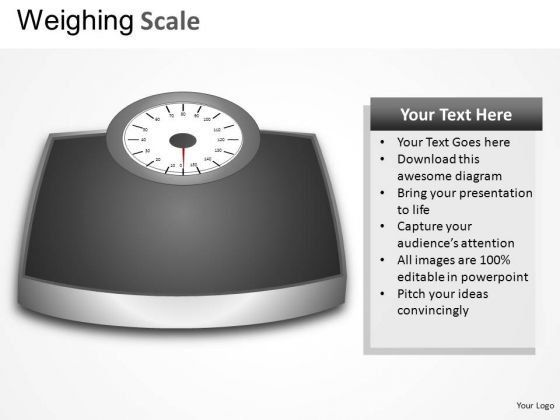 Household Weighing Scale PowerPoint Slides And Ppt Diagram Templates