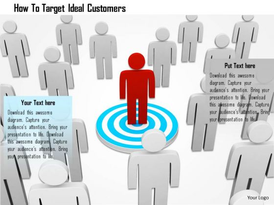 How To Target Ideal Customers PowerPoint Templates