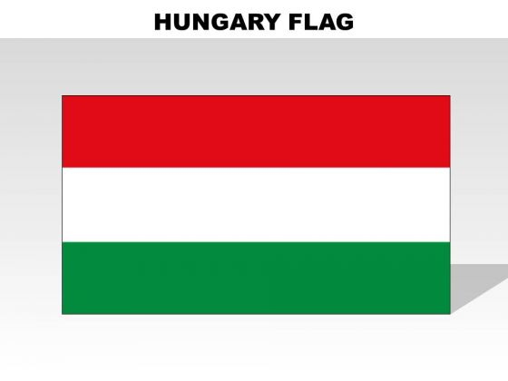 Hungary Country PowerPoint Flags
