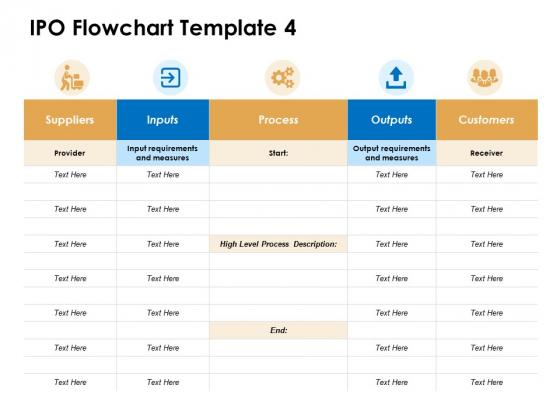 IPO Flowchart Customer Ppt PowerPoint Presentation Ideas Brochure