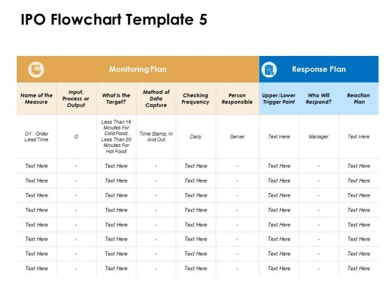 IPO Flowchart Plan Ppt PowerPoint Presentation Icon Rules