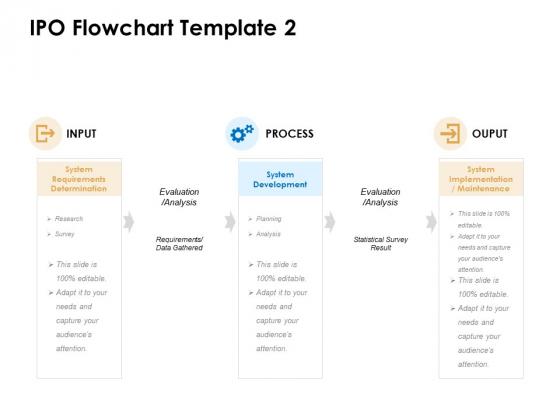 IPO Flowchart Process Ppt PowerPoint Presentation Professional Format