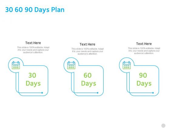 ITIL Knowledge Governance 30 60 90 Days Plan Ppt PowerPoint Presentation Summary Ideas PDF